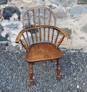 Fine 19th Century Ash Childs Windsor Chair