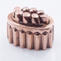 19th Century Decorative Copper Jelly Mould