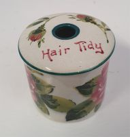 Rare Scottish Wemyss Wee Hair Tidy Pot