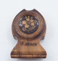 French Olive-Wood & Marquetry Watch Case