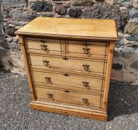 Fine Aesthetic Movement Ash Chest of Drawers