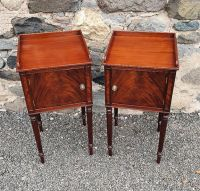 Superb Pair of Gillows Style Bedside Cabinets
