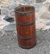19th Century Coopered Oak Stick Stand