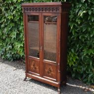 Outstanding Continental Rosewood China Cabinet