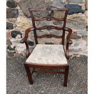 Georgian Style Edwardian Arm Chair