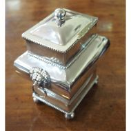 Fine Quality Victorian Silver Plated Tea Caddy