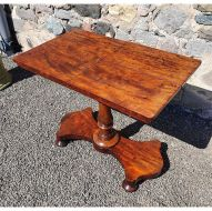 Gillows of Lancaster Library Reading Table